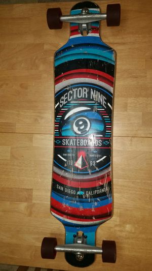 40 inch Sector 9 Nineball longboard for Sale in Vancouver, WA