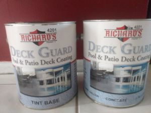 Pool patio & deck coating - white for Sale in Melbourne, FL