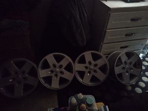 5 rims stock Jeep/Grand Cherokee for Sale in Pleasant Hill, IA