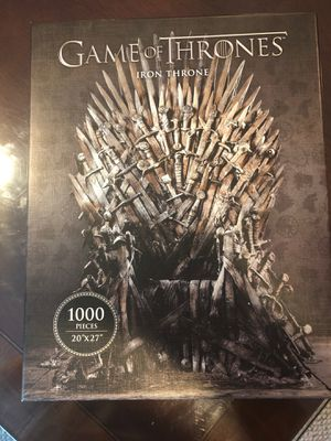 Game of Thrones 1000 piece puzzle for Sale in Houston, TX