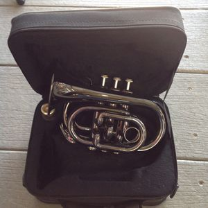 Jean Baptiste Piccolo/Pocket Trumpet with Carrying Case for Sale in Ontario, CA