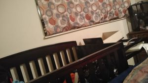 A brand new crib with changing table for Sale in Denver, CO