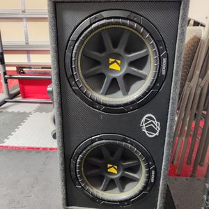 "Car Speaker brand new official kicker competition 12"" in factory KICKER enclosure for Sale in Pompano Beach, FL"