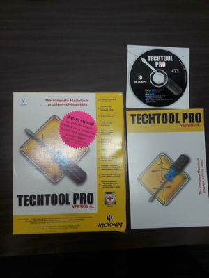 Techtool PRO v 4.0 for MAC pack for Sale in Los Angeles, CA