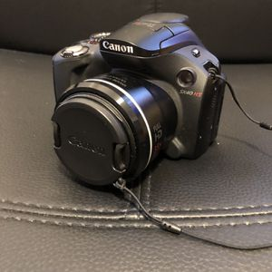 Cannon Video Camera - PowerShot SX40 HS for Sale in Ashburnham, MA