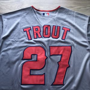 BRAND NEW! 🔥 Mike Trout #27 Los Angeles Angels Grey Jersey + SIZE Medium or Large + WE ONLY SHIP! 📦💨 for Sale in Anaheim, CA