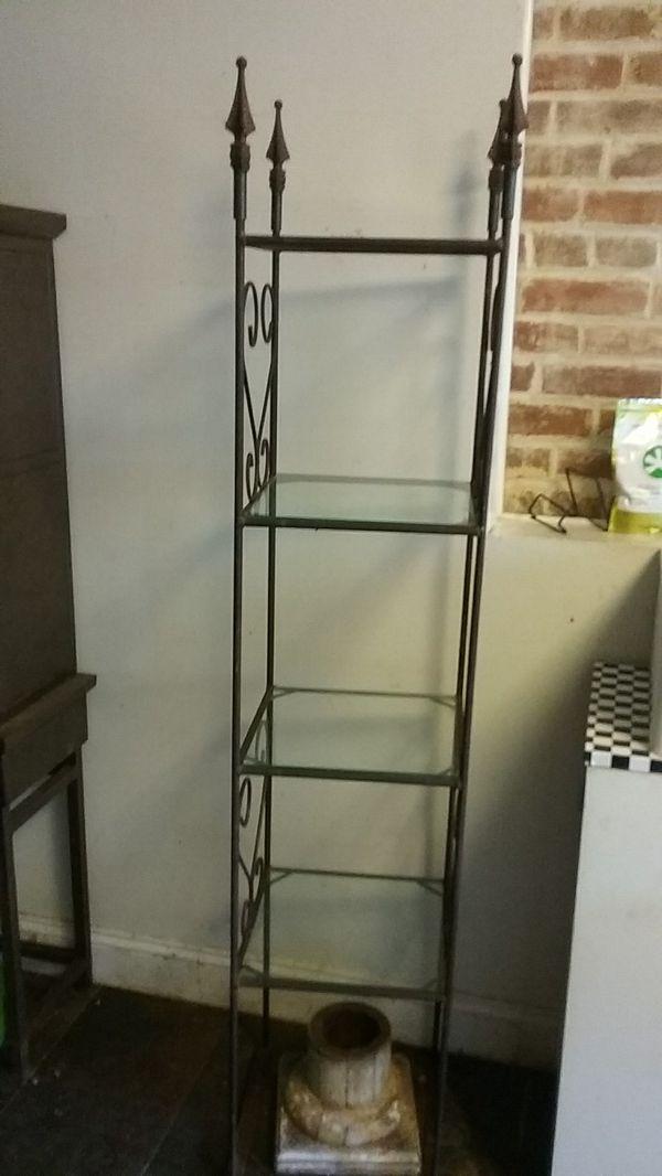 Gothic Metal Shelf
