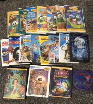 Lot of 19 Kids Movies DVD's for Sale in Lodi, CA