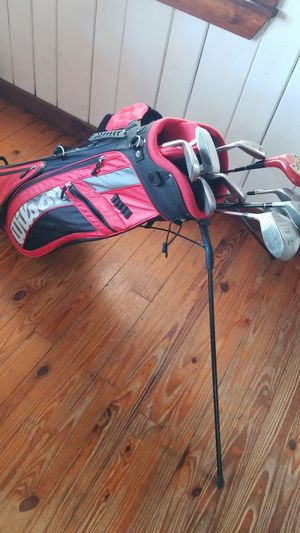 Golf bag, like new, with clubs for Sale in Ocean Ridge, FL