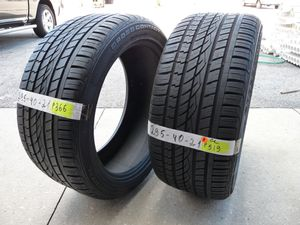 G95 295 40 21 Continental Cross Contact 2 used tires 80% life for Sale in Orlando, FL
