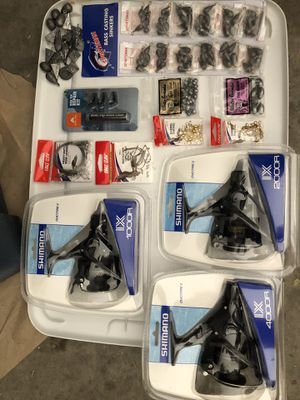 Load of brand new fishing gear for Sale in Peoria, AZ