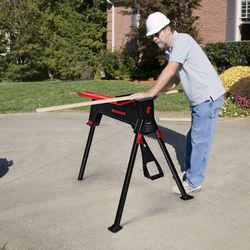 660 lbs Portable Clamping Sawhorse Work Bench for Sale in Walnut,  CA