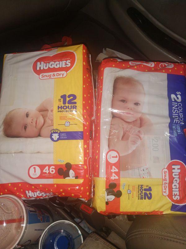 Huggies Diapers 8 -14 lbs