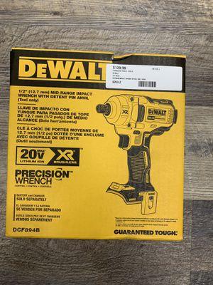 "Dewalt DCF894B 20V Max XR 1/2"" Brushless Mid-Range Impact Wrench. NEW for Sale in Lynn, MA"