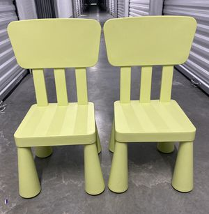 KID'S Chair (Lot of 2) ~ Pre-Owned for Sale in Lynnwood, WA