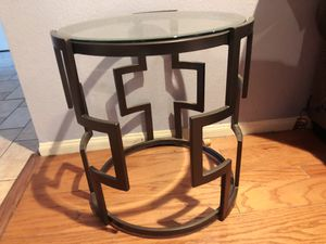 Round Glass Coffee Table for Sale in Irvine, CA