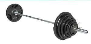 $375 Olympic WEIGHTS or BAR $145 BOTH $449 for Sale in Costa Mesa, CA