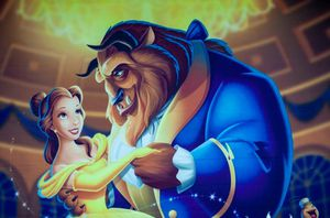 Beauty and beast background for Sale in Manassas, VA