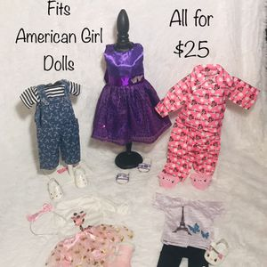 "New! 18"" Doll Clothes Fits American Girl Dolls for Sale in West Chicago, IL"