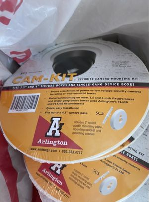 Arlington cam-kit sc5 security camera mounting kit 18 available for Sale in Rapid City, SD
