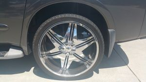 26 Inch Rims and Tires for Sale in Bloomington, CA