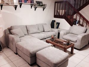 Sofa bed & armchair for Sale in Lake Worth, FL