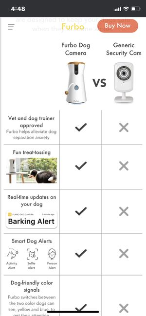Furbo camera for dogs and cats for Sale in San Francisco, CA