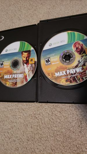 Max payne 3 rockstar xbox 360 game for Sale in Grapevine, TX