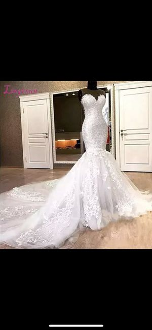 Lace Mermaid Wedding Dress for Sale in Bloomingdale, IL