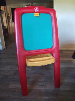 Easel chalk board and eraser board for Sale in Martinsburg, WV