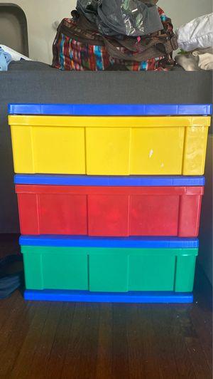 Plastic drawer bins for Sale in Los Angeles, CA