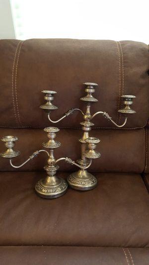 Vintage candelabras for Sale in Monroe Township, NJ