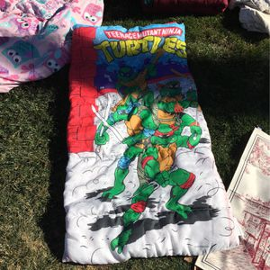 Ninja Turtle Sleeping Bag for Sale in Calimesa, CA