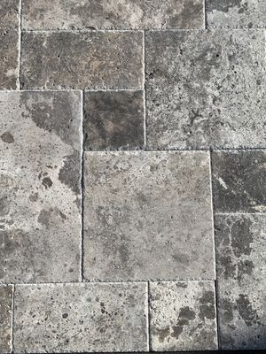 $2.99 sqft Silver Gray Travertine Brushed Chisled Versailles Pattern Tile SALE for Sale in Anaheim, CA