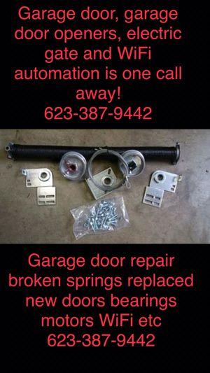 Garage door spring (garage door spring repair parts) for Sale in Glendale, AZ