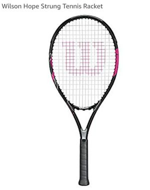 Wilson Hope -NEW size 4 1/2 tennis rackets, with matching pink back brace, women's size small for Sale in Pembroke Park, FL