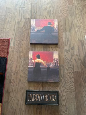 Three bar paintings for Sale in Warminster, PA