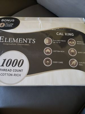 Cal King Sheet Set Brand New for Sale in Union City, CA