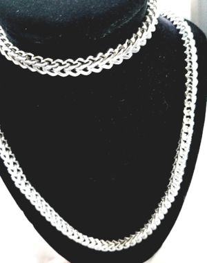 Set of necklace and bracelet for men (stainless steel) for Sale in Las Vegas, NV