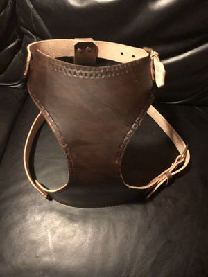 Hand made leather dog harness. for Sale in Melrose Park, IL