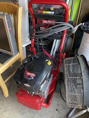 Craftsman pressure washer for Sale in Dinuba, CA