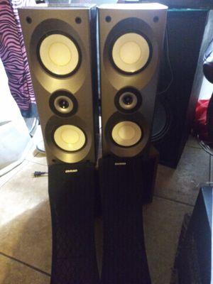 Onkyo speakers for Sale in Fort Pierce, FL