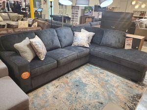 Modern Sectional Sofa, Slate for Sale in Garden Grove, CA