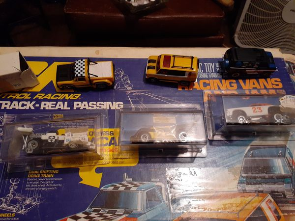 Vintage slot cars from 78