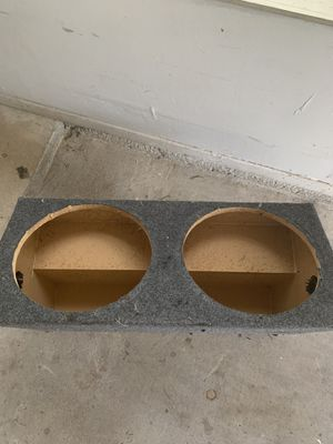 12 inch sub BoX for Sale in Pflugerville, TX