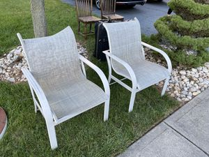 2 lawn chairs free for Sale in Franklin Township, NJ