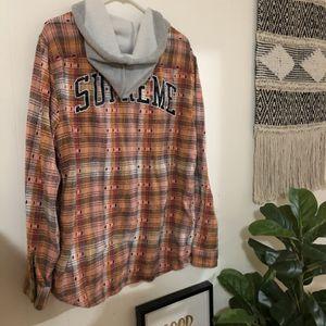FW18 Supreme Hoodes Jacquard Flannel for Sale in Everett, WA