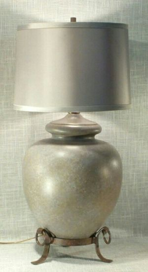 """Lamp, Rustic Iron Accents 26""""x14"""" (1 available) *PICKUP ONLY* home decor, household, lamps, table lamp for Sale in Mesa, AZ"""