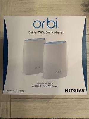 Orbi WiFi System (RBK50) AC3000 (Router & Satellite) for Sale in Jacksonville, FL