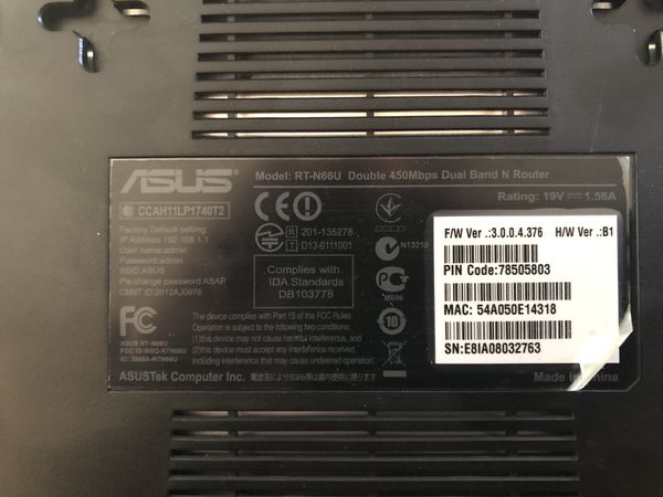 Asus RT-N66U Dual Band Wireless Router and Access Point